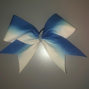 Accessories - Blue Gradient Bow